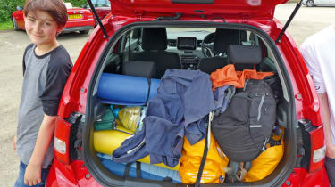 Long-term test - Suzuki Ignis - boot loaded