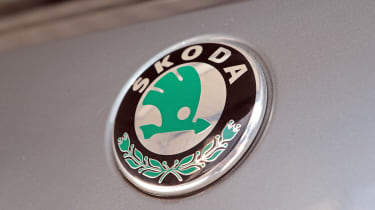 Used Skoda Fabia - Skoda badge