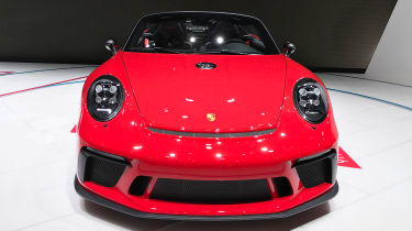 Porsche 911 Speedster - Paris full front