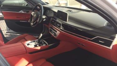 BMW M740e - interior