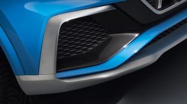 Audi Q8 SUV - front vent