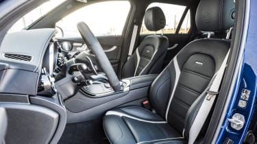 Mercedes AMG GLC 63 S - front seats