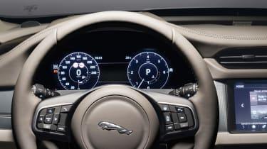 Jaguar XF Sportbrake - dials