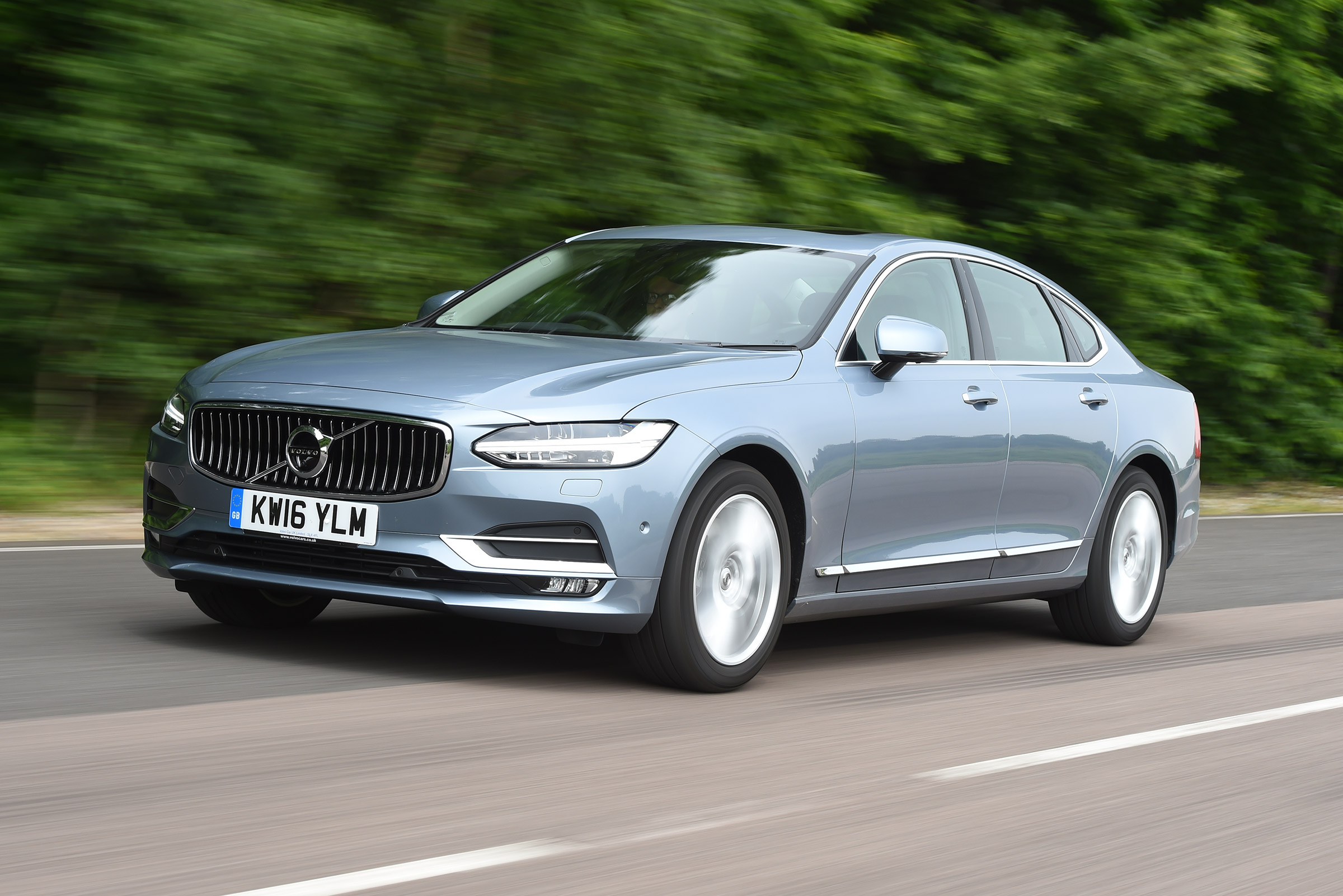 Volvo S90 Practicality Boot Size Dimensions Luggage Capacity Auto Express