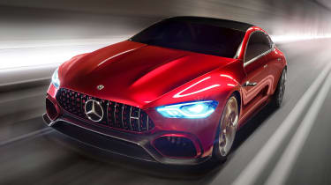 Mercedes-AMG GT Concept - front tracking