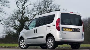 Fiat Doblo grey rear