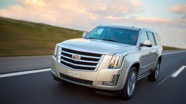 Cadillac Escalade 2015 - driving