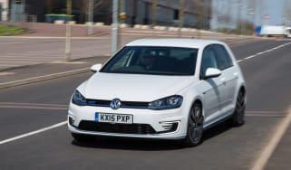 VW Golf GTE hybrid front