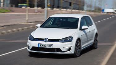 VW Golf GTE hybrid front