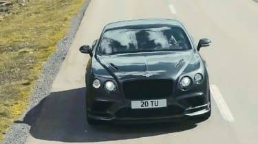 Bentley Continental GT Supersports 2017 - video front 4