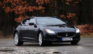 Maserati Quattroporte GTS front