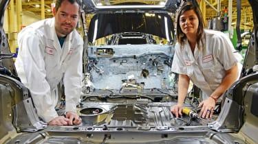 Honda's Swindon factory - Pete and Romula Soane