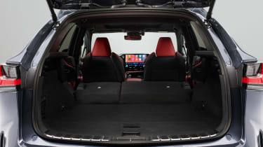 Lexus NX - boot seats down