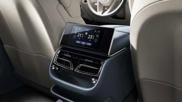 Bentley Flying Spur - rear controls