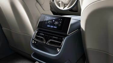 Bentley Flying Spur - rear controls