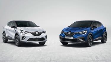 Renault Captur E-Hybrid - range