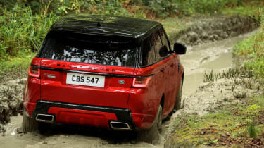 Range Rover Sport - rear