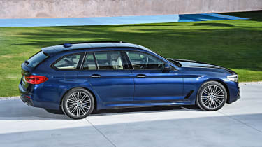 New BMW 5 Series Touring - side static