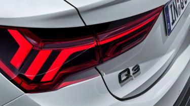 Audi Q3 Sportback - rear lights