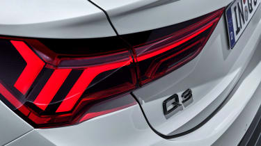 Audi Q3 Sportback - rear lights