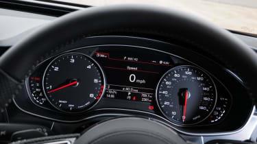 Used Audi A7 Sportback - dials