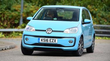 Volkswagen up! - front cornering