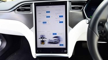 Tesla Model S 75D - infotainment