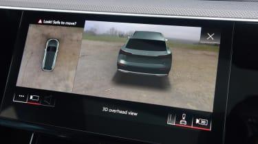 Audi e-tron S - reversing camera