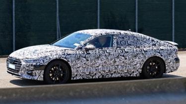 New Audi A7 spyshot - side