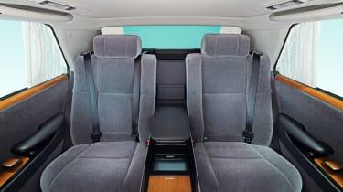 2018 Toyota Century - passenger seats
