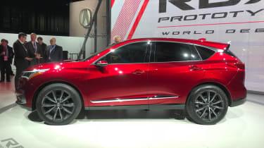 Acura RDX Prototype - Detroit side