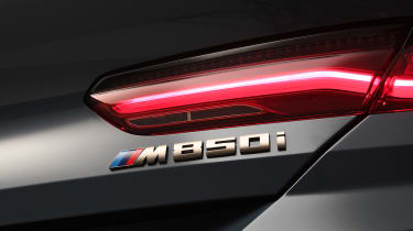 BMW 8 Series - studio rear light