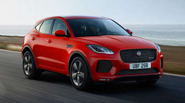 Jaguar E-Pace Chequered Flag Edition - front