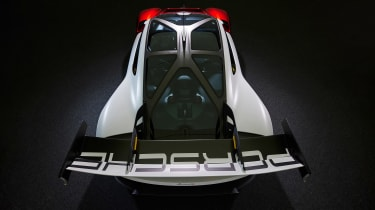 Porsche Mission R - full rear