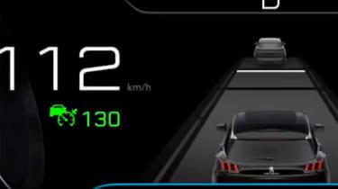 Peugeot 3008 screen