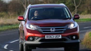 Honda CR-V front action