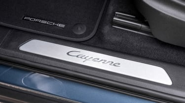 Porsche Cayenne E-Hybrid - sill