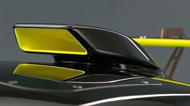 Audi R8 LMS GT2 - wing