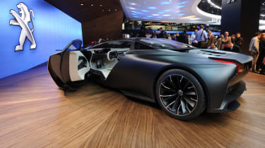 Peugeot Onyx supercar rear