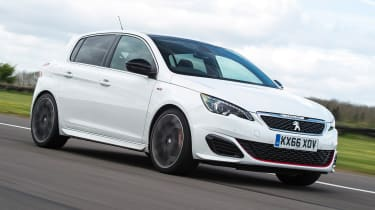 Peugeot 308 GTi - tracking