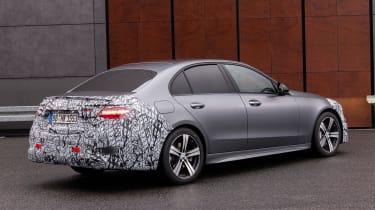 Mercedes C-Class prototype - front rear