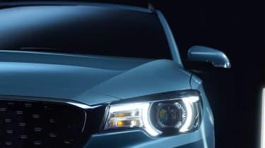 MG eZS - front light