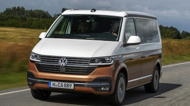 Volkswagen California T6.1 - front action