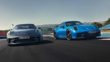 Porsche 911 GT3 Touring and Porsche 911 GT3 - front
