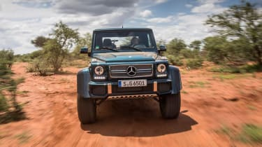 Mercedes-Maybach G 650 Landaulet - full front action
