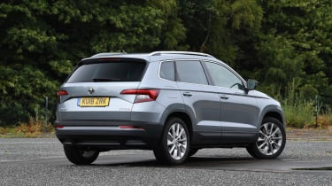 Skoda Karoq - rear static