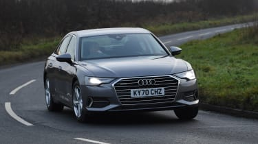 Audi A6 - cornering