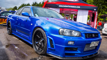Cool cars: the top 10 coolest cars - Nissan R34 Skyline