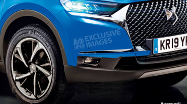 DS 3 Crossback - front detail (watermarked)
