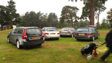 Volvo V70 group test